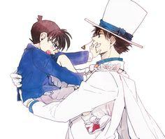 Detective Conan/Magic Kaito Kaito Kid x Conan No Kiss!!!