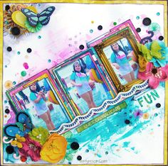 Shimmerz Paints: Summer Fun Video Tutorial with Amy Prior