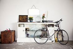Hot home accessory: the bicycle