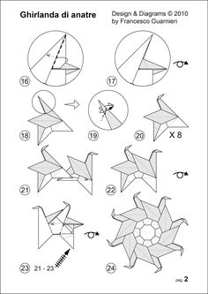 diagramms pag. 2: Ghirlanda di anatre - Garland of ducks © Francesco Guarnieri