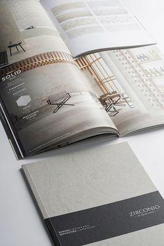 Zirconio Spring Catalogue 2014 #vxlab #designdirection #design #brand #identity #branding #logotype #catalogue #graphicdesign #contemporary #cover #elegance #minimalism #bestminimal