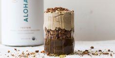 Chocolat Peanutbutter vegan protein mousse recipe