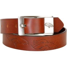 Denver Broncos Brandish Leather Belt - $34.99