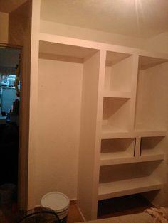 Closet drywall tablaroca closet royal drywall for Disenos de closet