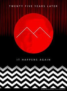 Twin Peaks Season 3 poster