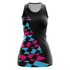 Scorpion Sports Netball Dresses UK are designed and sublimation printed within 4 weeks. Scorpion also supply teams, schools and colleges with branded after match garments. Netball Dresses, Golf Clothing, Golf Outfit, Dresses Uk, Teen Wolf, Wetsuit, Designer Dresses, Athletic Tank Tops, Sportswear
