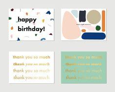 책 속에서 꺼내 쓰는 편지, 카드북 :: 텀블벅 Thank You So Much, Banner, Happy Birthday, Invitations, Graphic Design, Banner Stands, Happy Brithday, Urari La Multi Ani, Happy Birthday Funny
