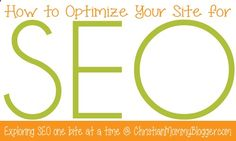 How to optimize your site for SEO. A short series that simplifies the heavy topic and breaks it down into bite-sized chunks.