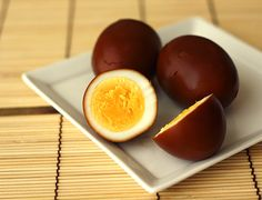 Shoyu Tamago - Japanese Soy Sauce Eggs #japanese #recipes