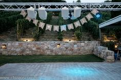 Wedding decorations outdoors