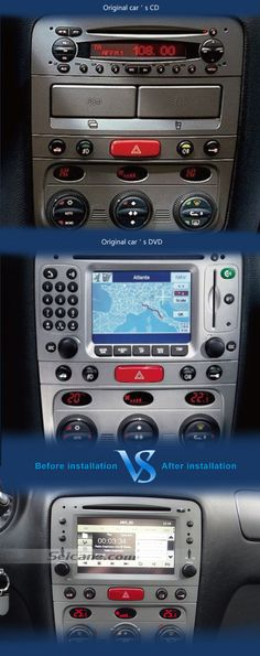 Aftermarket OEM Radio Replacement Mitsubishi Outlander DVD