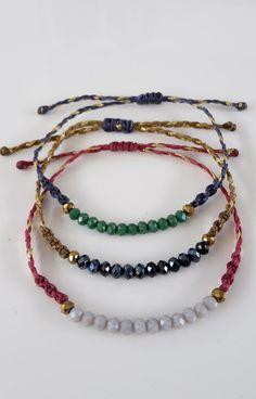 Red Anchor Bracelet Black Leather Bracelet Friendship by to Love Bracelets, Ankle Bracelets, Friendship Bracelets, Seed Bead Necklace, Beaded Necklace, Beaded Bracelets, Jewelry Crafts, Handmade Jewelry, Hanging Beads