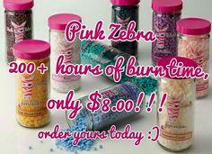 PinkZebraHome.com/KozyHomeScents facebook.com/SprinkleColoredSunshine