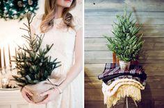 Kleine kerstbomen voor in huis!