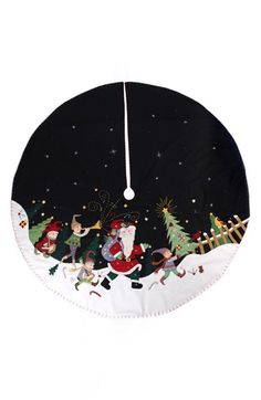 New World Arts Santa Parade Christmas Tree Skirt available at #Nordstrom