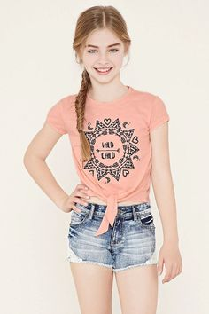 Girls Wild Child Tee (Kids) #f21kids