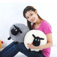 Stylish Soft Stuffed Sheep Plush Pillow Sofa Home Cushion Kid's Baby Toys Gift Sheep Crafts, Bunny Crafts, Plush Dolls, Doll Toys, Shaun The Sheep, Pom Pom Crafts, Sewing Toys, Diy Pillows, Sofa Pillows