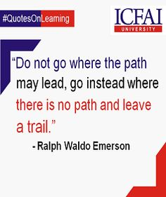 """As it is said oftentimes, """"It is the path less travelled that leads to beautiful destinations."""" #Learning"""