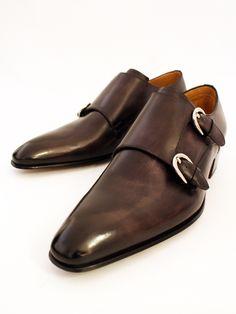 これもいい靴ですね~  Stefano Branchini『ステファノ・ブランキーニ』正規取扱店 ダブルモンクストラップ B4697-NERO DEL【楽天市場】
