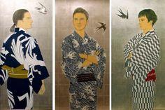 夏姿 三人衆ブログ Baseball Cards, Japanese Painting, Printmaking