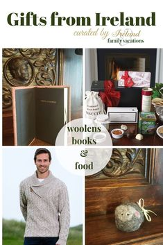 Gifts from Ireland: woolens, books & food. Irish gifts to give. Gift ideas that will bring Ireland into your home! Holiday gifts from Ireland Ireland Vacation, Ireland Travel, Christmas In Ireland, Overseas Travel, Irish Art, Ireland Landscape, Irish Recipes, Emerald Isle, Christmas Activities