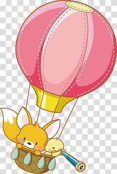 Balloon Cartoon, Cartoon Posters, Hot Air Balloon, Tweety, Balloons, Clip Art, Cute, Fictional Characters, Image