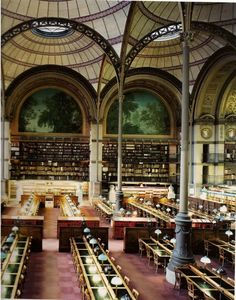 Candida Hofer's LIBRARIES -Paris