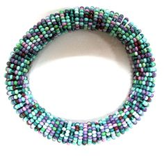 Gypsy Soule Fire and Water Stretch Beaded Bracelet DB513D