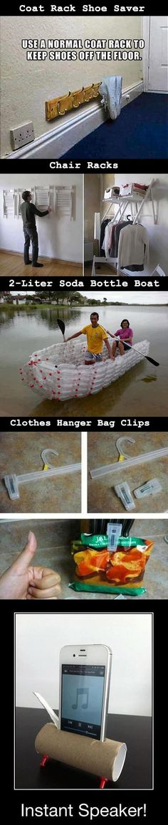 This is especially great if you live in a wet climate! 5 Creative Ways to Reuse Everyday Things