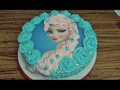 Tort Elsa z Krainy Lodu #3 / Frozen/ Kasia ze slaska gotuje - YouTube