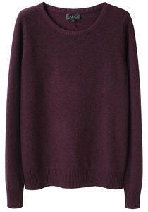 wine sweater