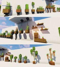 #minecrafthouses Minecraft World, Cute Minecraft Houses, Minecraft Garden, Minecraft House Tutorials, Minecraft Plans, Minecraft Room, Amazing Minecraft, Minecraft House Designs, Minecraft Mansion
