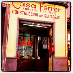 Guitar makers - Granada, Spain.  http://www.costatropicalevents.com/en/costa-tropical-events/andalusia/cities/granada.html