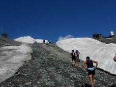 Ultra Zermatt Marathon am 06.07.2013 - Bis zum Ziel in 3100 m Höhe - Bildimpressionen von Manfred Fellner und Annelie Hirschmann: http://laufspass.com/laufberichte/2013/zermatt-marathon-2013.asp
