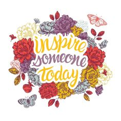 Sometimes the best kind of monday motivation is the kind where you strive to inspire others!