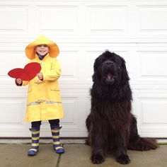 Genuine Love Between a Little Boy and His Big Dog - Stasha Becker