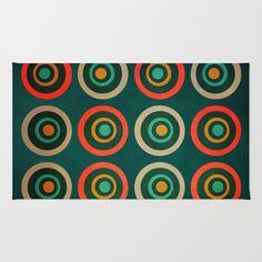 Textures/Abstract 66 Area & Throw Rug by ViviGonzalezArt - $28.00