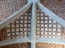 Lille Couvent minimes decor geometrique briques voute cloitre (4)