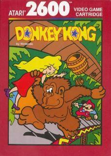 Covers & Box Art: Donkey Kong - Atari of Vintage Video Games, Classic Video Games, Retro Video Games, Video Game Art, Retro Games, Nintendo, Playstation, Donkey Kong Junior, Atari Video Games