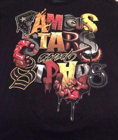 Famous Stars and Straps Men's Graphic T-Shirt. Black. Size XL Hip Hop Rap #FamousStarsandStraps #GraphicTee