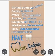 #stayhome #staysafe #covid_19 #airdrielife #airdrie #airdrie360 #airdriebusiness #positiveenergy #dentalassistant #dentist #dentaloffice #airdriedentalgroup #westairdriedental #smilemore #passionforwhatyoudo #dentalife #compassion #community #comment4comment #followforfollowback #airdriecommunity #brushyourteeth #teethcleaning #sugarbugs #positivity #summerishere #canada #keepingitreal #loveourpatients #heretohelp Dental Assistant, Summer Is Here, Teeth Cleaning, Dental Care, Take Care Of Yourself, Compassion, Canada, Positivity, Community