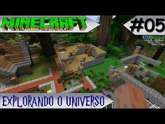 MINECRAFT - EXPLORANDO O UNIVERSO - FOMOS ATACADOS #05