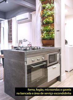 Um apê bem resolvido e completo com 34m² - dcoracao.com - blog de decoração