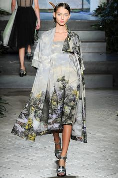 """Gardening outfit"" by Antonio Marras 