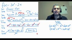 In this video, I cover the steps necessary to solve for an equation for the IRC (slope of the tangent) for any function at any x-coordinate using the Differe. Math Tutor, Equation, Change, Equality
