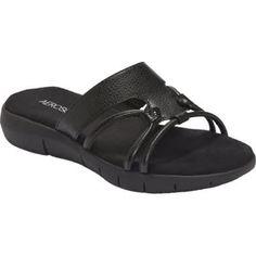 A 2 By Aerosoles Women's Wip Away Sandal Open Toe White Snake Black Snake Black #Aerosoles #Sandal