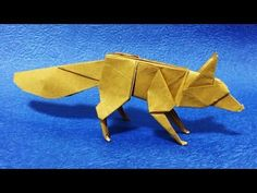 Origami Dollar Bill Hare (Barth Dunkan) - YouTube