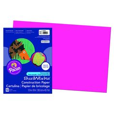 SUNWORKS 12X18 HOT PINK 50CT