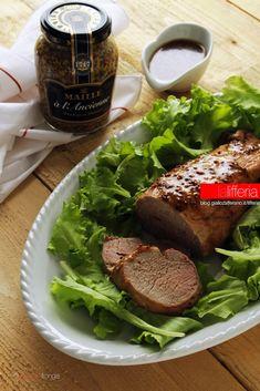 Filetto di maiale in salsa agrodolce alla senape