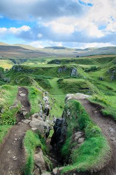 Fairy Glen, Scotland.